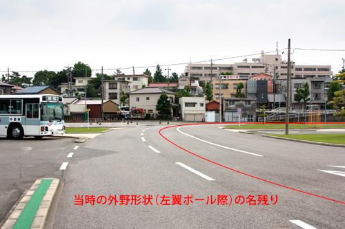 鳴海球場,日本プロ野球誕生の地,昭和の野球場,昔の野球場,YAKYUJO.com