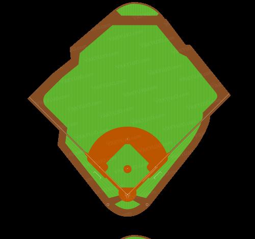 ミニッツ・メイド・パーク,ヒューストン・アストロズの本拠地,Minute Maid Park,The Juice Box,Houston Astros,かなり歪な形状,本塁から中堅までの距離がMLB最大,左右非対称,センター後方に傾斜,傾斜30度の坂,タルの丘,センター後方にポール,アメリカ・メジャー・MLBの野球場,  ,YAKYUJO.com,野球場のイラスト・図面・俯瞰図・真上から,野球場の大きさ比較,野球場の広さ比較,野球場の面積,野球場どっと混む,野球場ドットコム,野球場.com,パークファクター