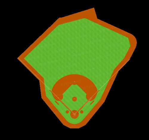 フェンウェイ・パーク,ボストン・レッドソックスの本拠地,上原浩治・田澤純一の本拠地,Fenway Park,Boston Red Sox,メジャーで最も古い野球場,グリーン・モンスター,かなり歪な形状,左右非対称,アメリカ・メジャー・MLBの野球場,  ,YAKYUJO.com,野球場のイラスト・図面・俯瞰図・真上から,野球場の大きさ比較,野球場の広さ比較,野球場の面積,野球場どっと混む,野球場ドットコム,野球場.com,パークファクター
